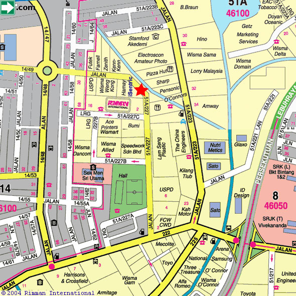 iSENTRIC Sdn. Bhd. 3 Jalan 51A/227 Petaling Jaya